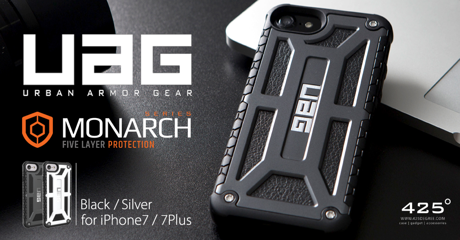 super popular dd147 2af2c UAG Monarch ( เคส iPhone 8/7/6s/6 , 8 Plus/7 Plus/6s Plus/6 Plus )