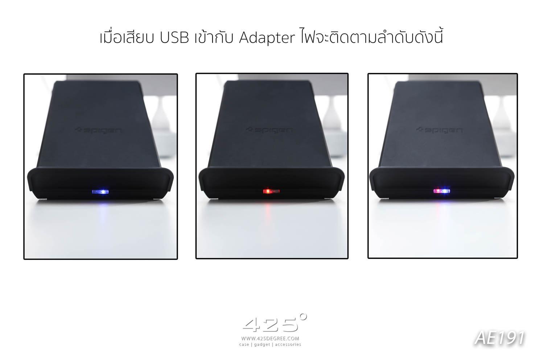 super popular e5204 1441c Spigen F303W Wireless Fast Charge ( เเท่นชาร์จเร็วแบบไร้สาย )