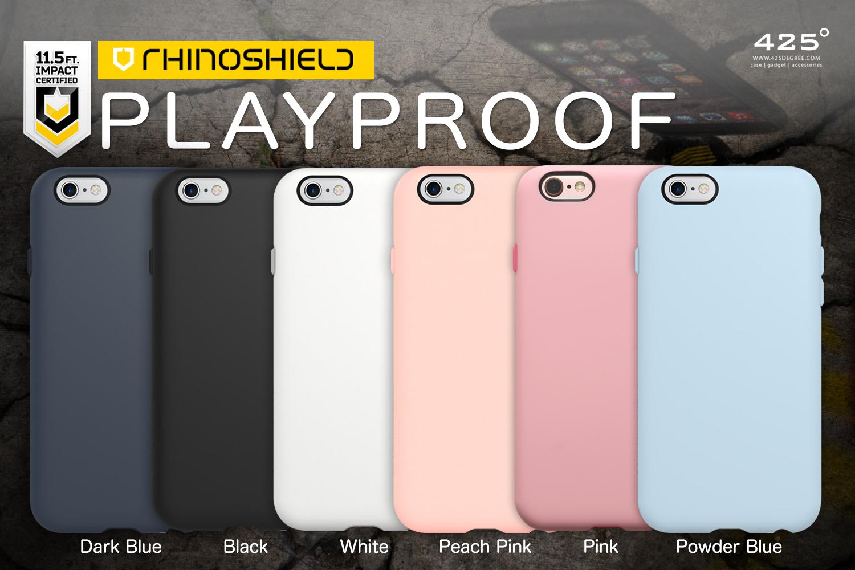 official photos b64dd 89e69 Rhinoshield Playproof ( เคส iPhone 6s/6 , 6s Plus/6 Plus )