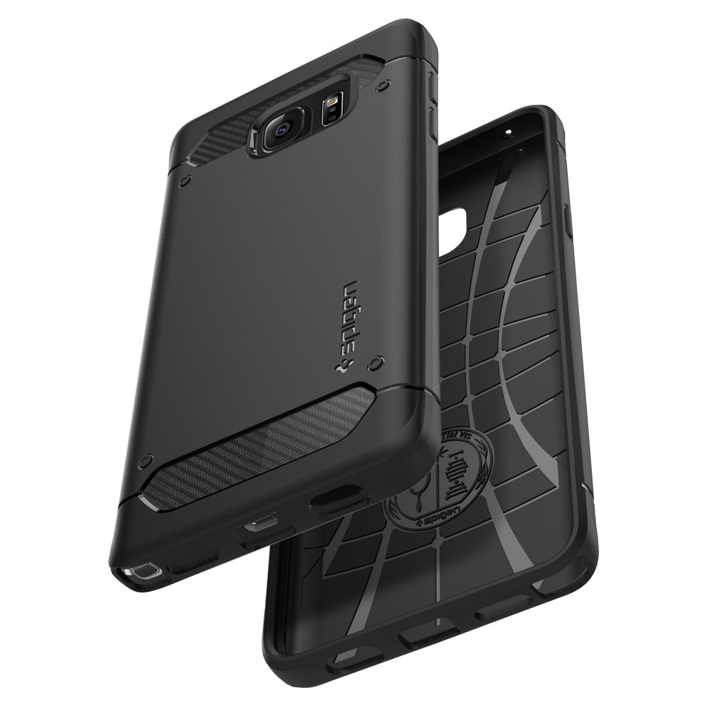 half off 2cd19 23fd5 Spigen Rugged Armor Case ( เคส Samsung Galaxy Note 5 )